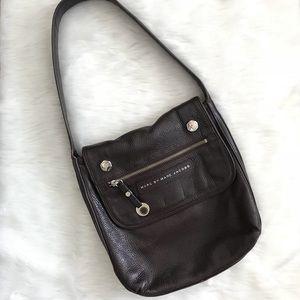 Marc by Marc Jacobs Brown Leather Shoulder Bag